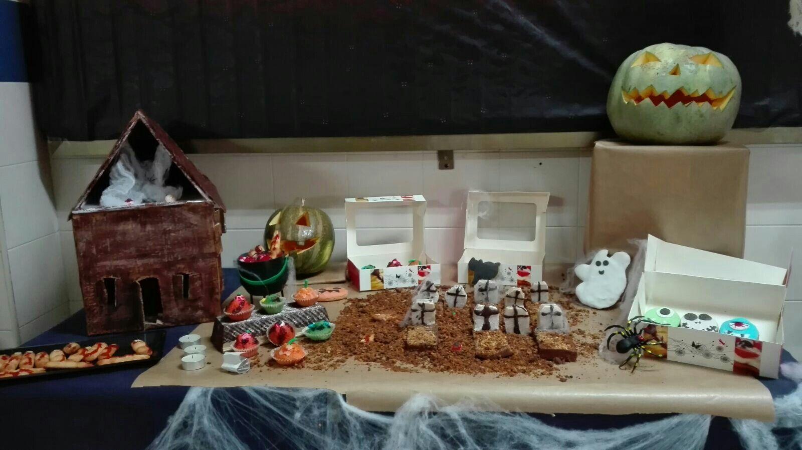 Expositor de halloween.