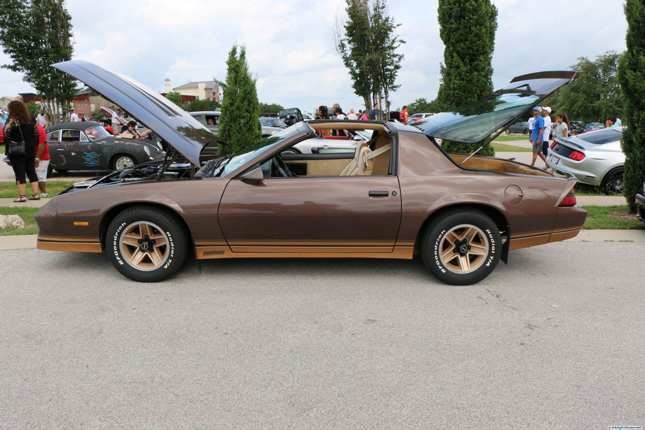 1982 Camaro Z28 with circa 1986 350 engine swap. As seen at the June ...