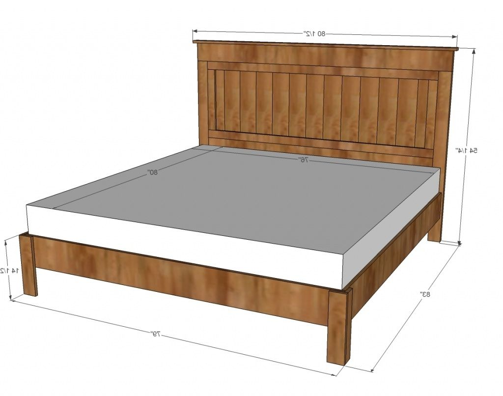 Fantastic Standard Queen Size Bed Furniture Bed Bed Frame King
