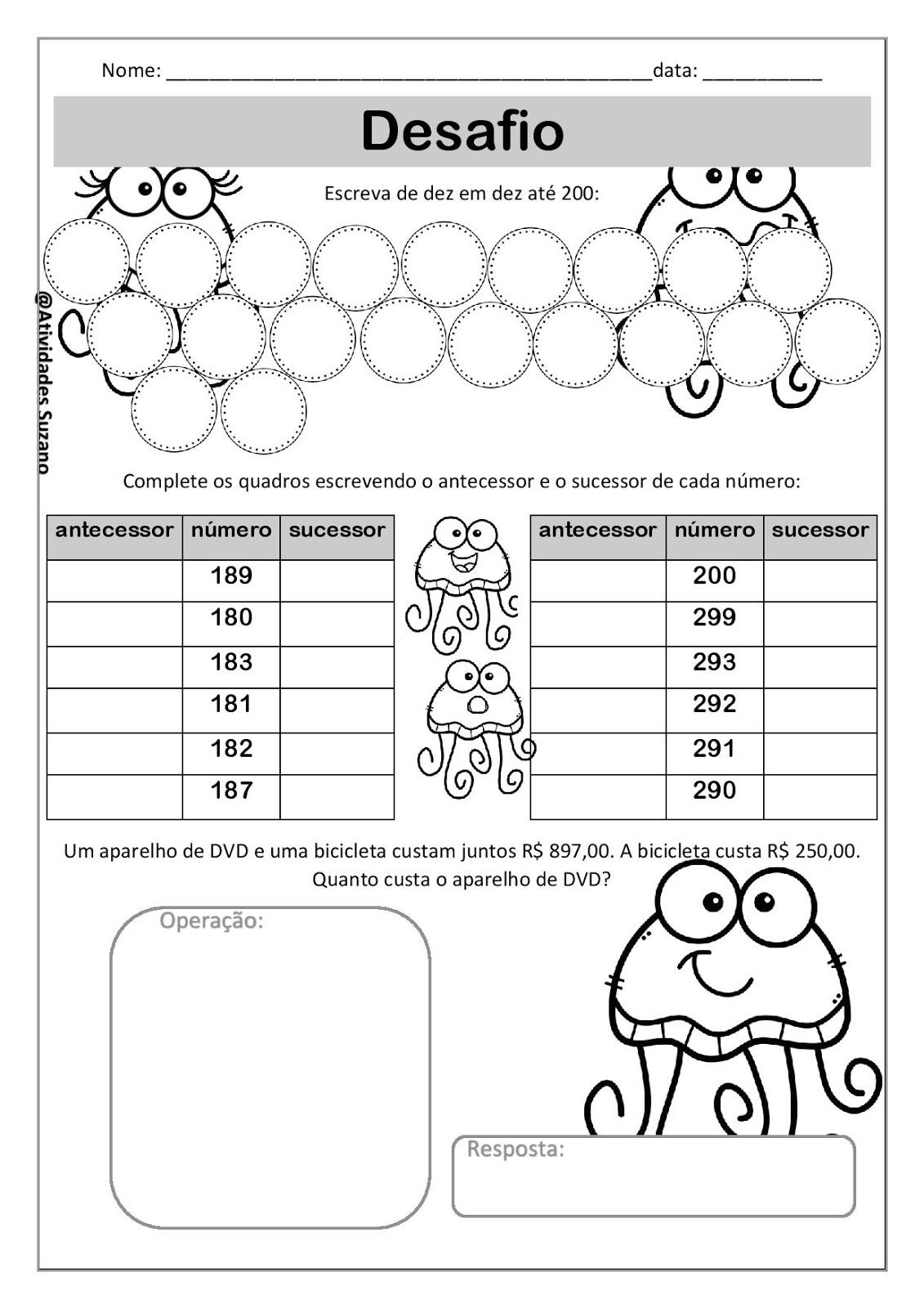 Pencil control worksheet for kids 187 tracing line worksheet for kids - Desafio Matematico 4 Ano Page 002 Jpg 1131