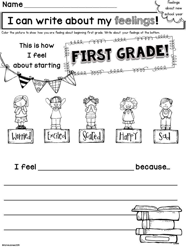 Back to School Activities for the First Weeks of First ...