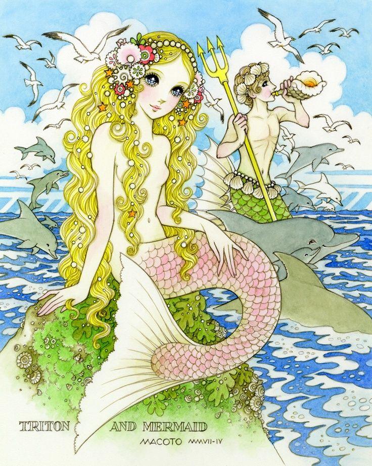 macoto takahashi�the little mermaid� macoto takahashi