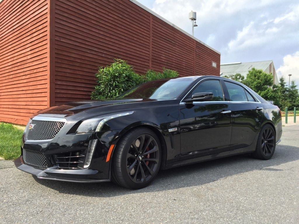 2016 cadillac cts v all black everything [ 1024 x 768 Pixel ]