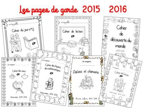 pages de garde 2015 2016 organizations french immersion and school. Black Bedroom Furniture Sets. Home Design Ideas