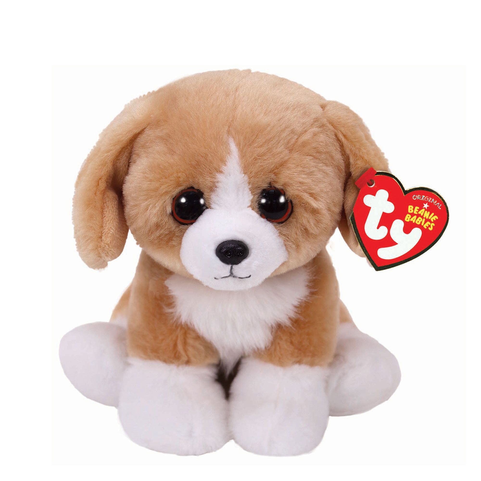 Ty Beanie Baby Small Franklin The Dog Plush Toy Claire S Us