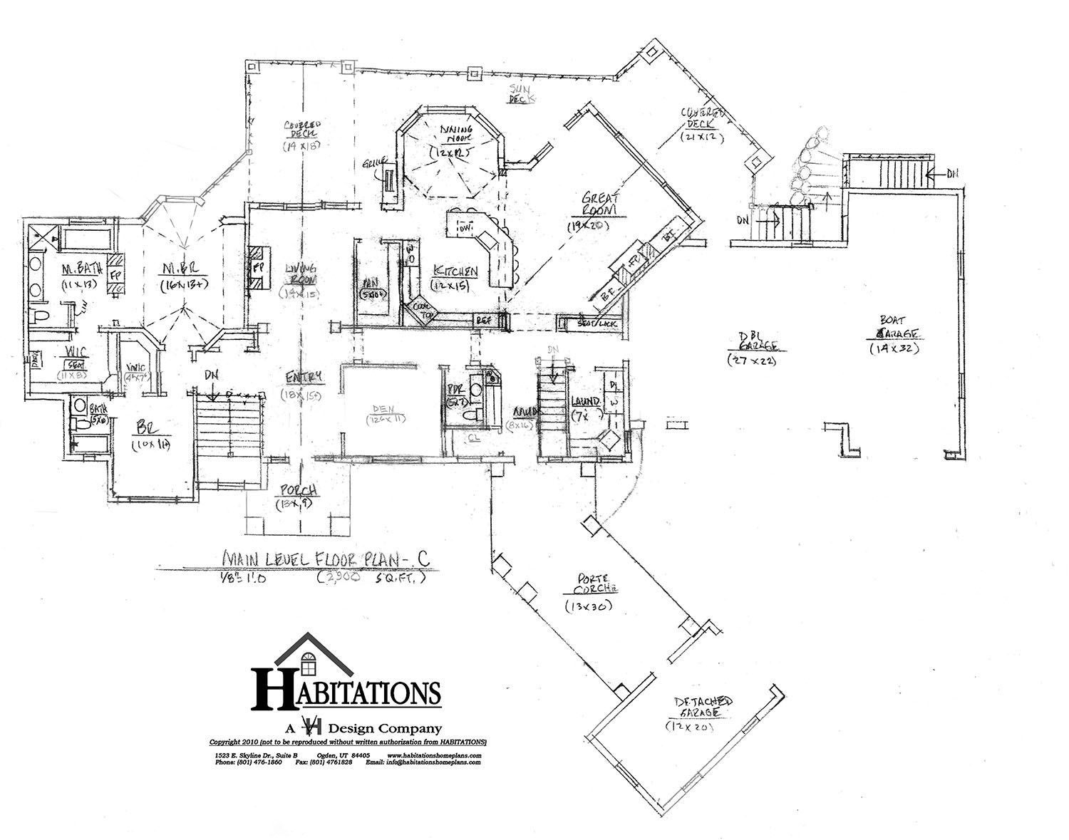 Nice House Plan Would Like The Other Bedroom Away From Mater
