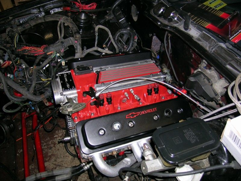 l98 motor   Taller centerbolt valve covers    can you get