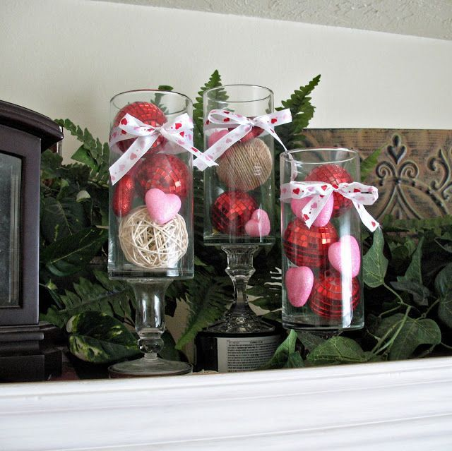 25 Valentines Decorations: 25+ Valentine's Day Home Decor Ideas