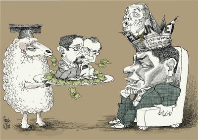 Juicio a autores del libro El Gran Hermano - Pancho Cajas
