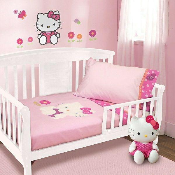 kinderbett mit dekoration einrichtungsideen für jungen und mädchen, Schlafzimmer