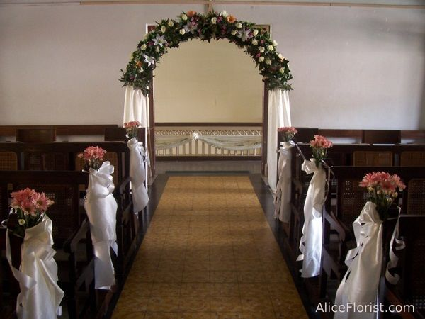 Church Wedding Decor Comtemporary Wedding Church Decor Chapel