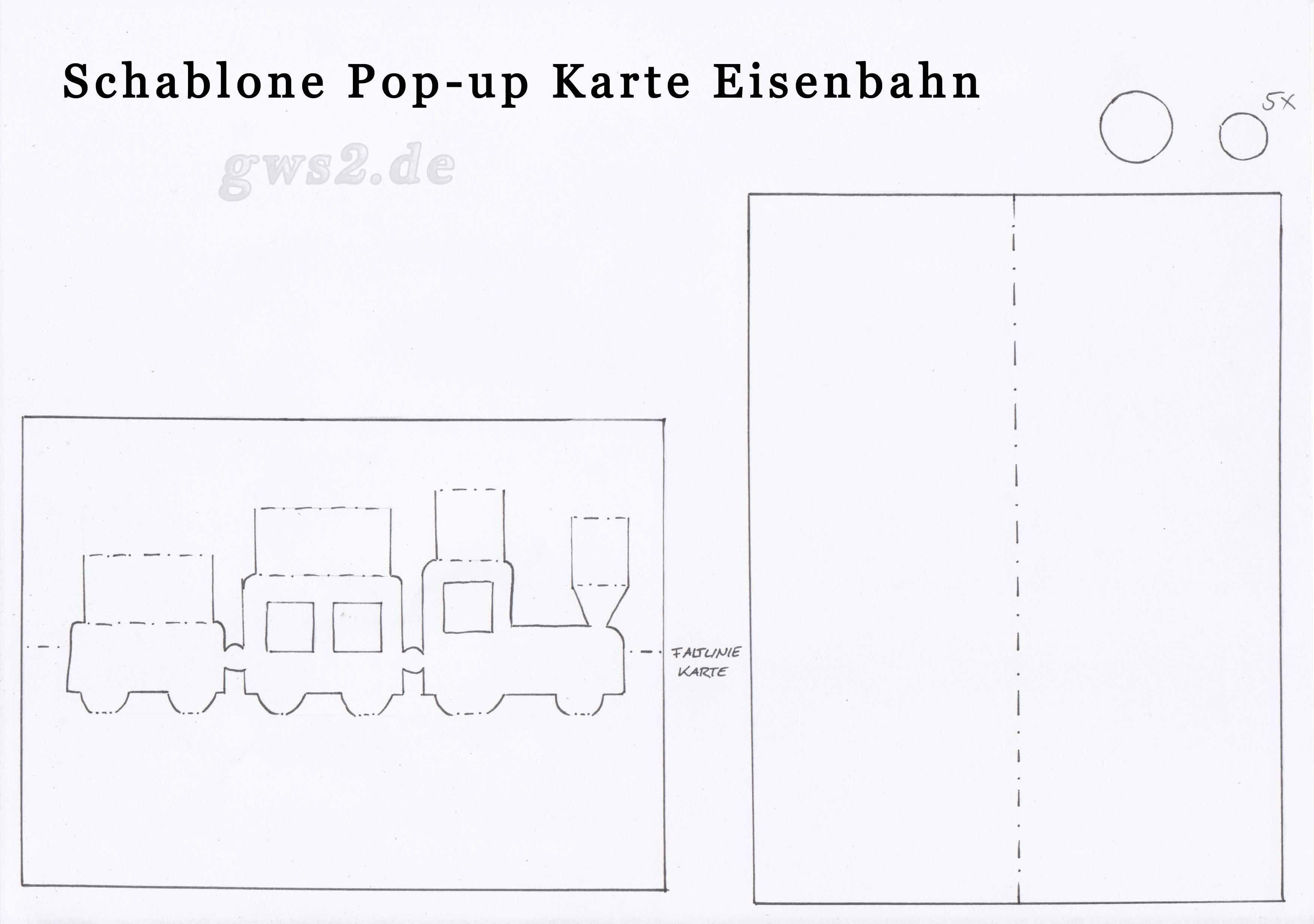 Pop Up Geburtstagskarte Bastelvorlagen Und Anleitung