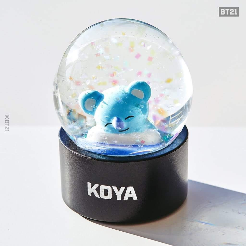 Water Globes Of Bt21 Water Globes Snow Globes Home Decor
