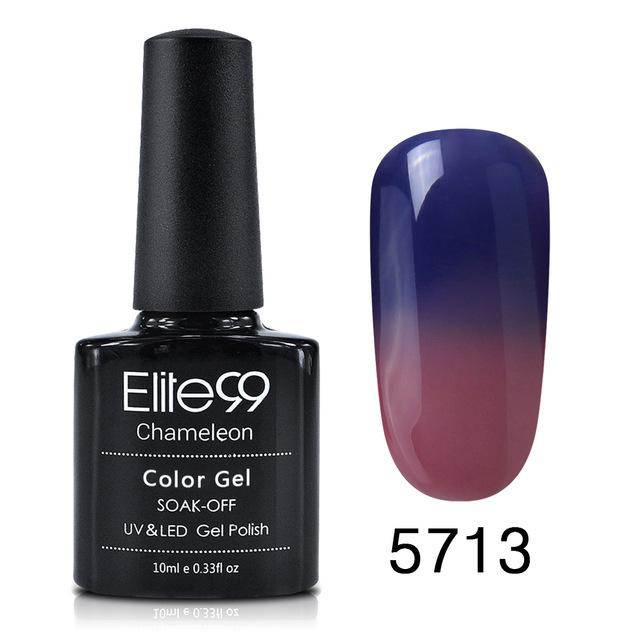 Elite99 10ml Temperature Color Changing Gel Need Uv Led Lamp Nail Gel Jjslove Com Uk Promdressuk Quinceaneradress Champagn Gel Polish Nail Polish Uv Nails