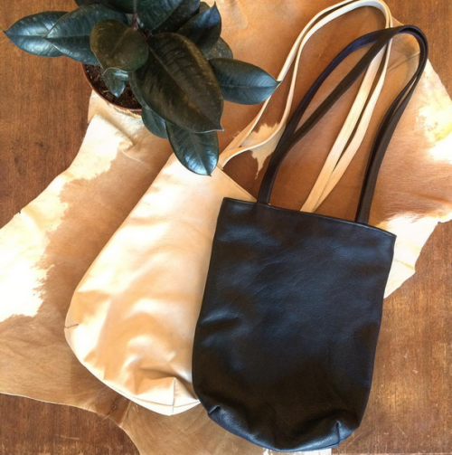 Beautiful Fall Colours// BYOB Rectangle Tote at the shop. Come in and pick up your new Fall bag!