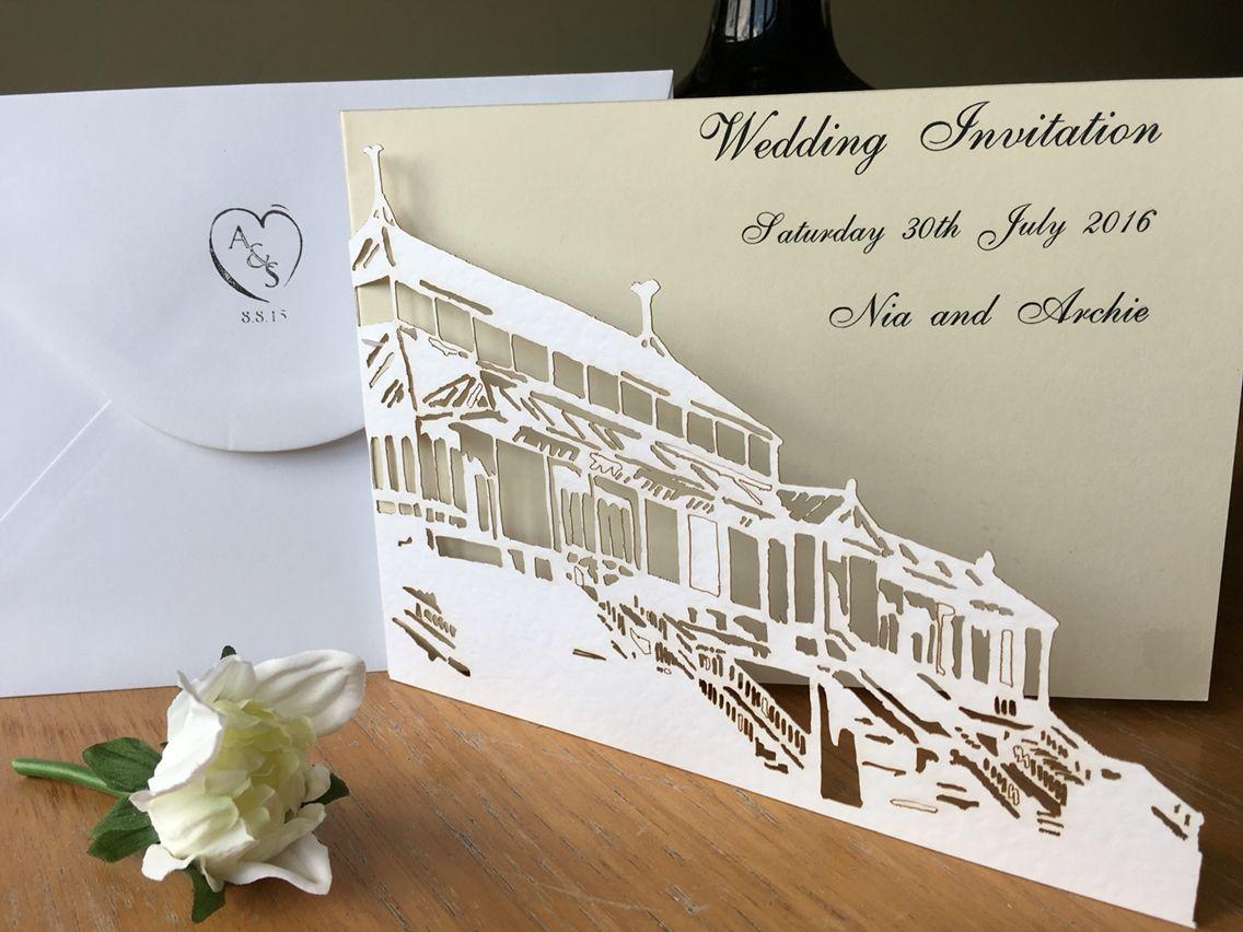 Isla Gladstone wedding invitation Liverpool. Liverpool wedding ...