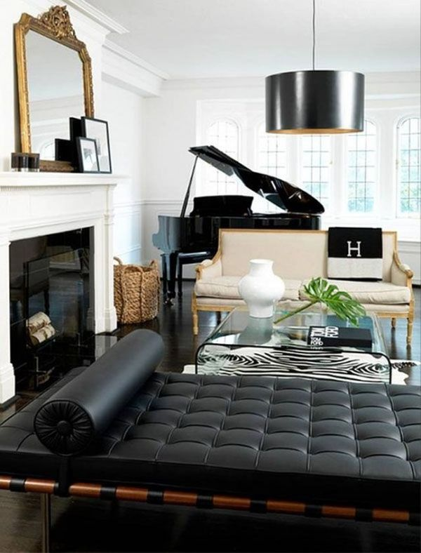 60 Masculine Living Room Design Ideas with Different Styles Living