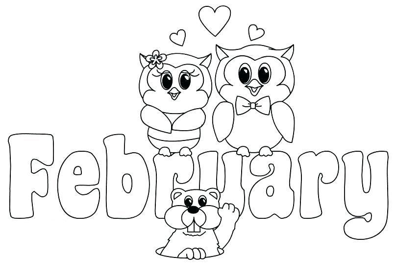 February Coloring Pages Best Coloring Pages For Kids Coloring Pages February Colors Valentine Coloring Pages