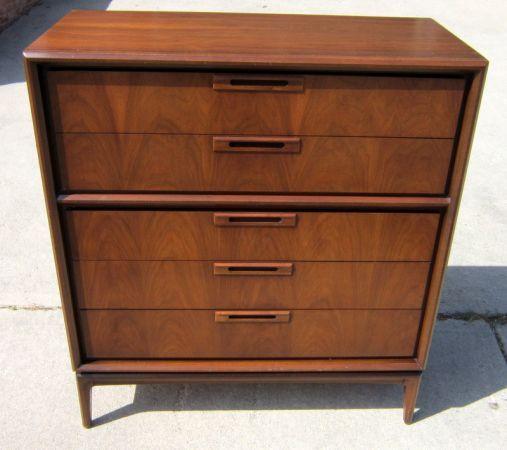 Walnut tall dresser - $295 in Arvada | Find furniture ...