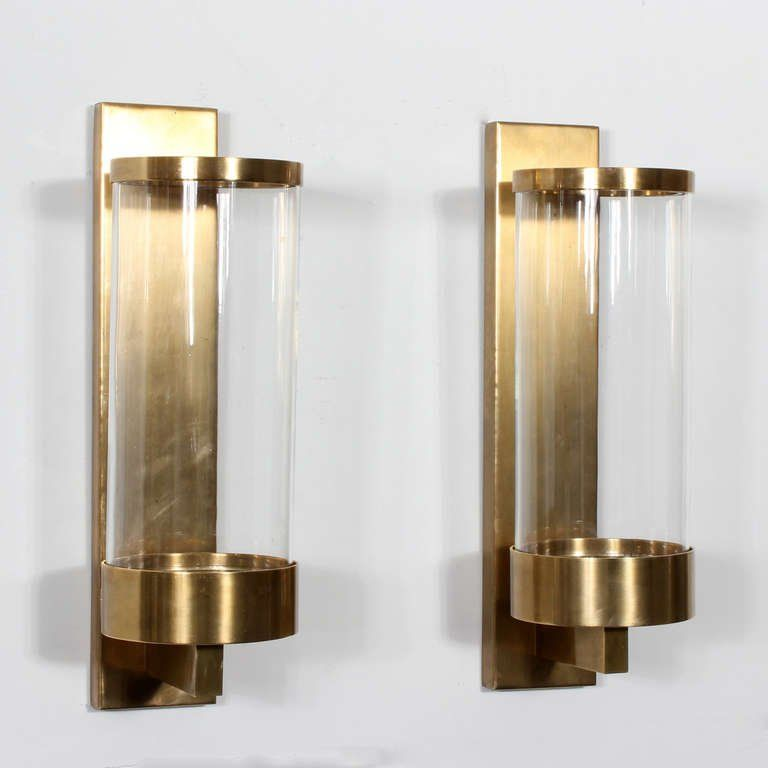wall candle sconces with glass surprising sconce crate and on wall sconces id=28745