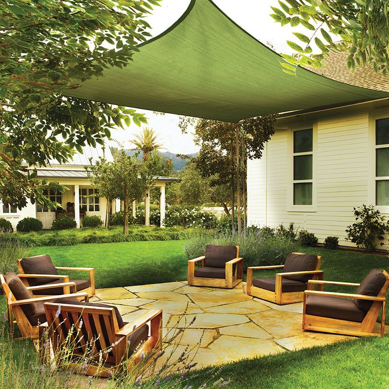 Lovely Sun Shade Sail Square, Lime Green   Shade U0026 Shade Cloth