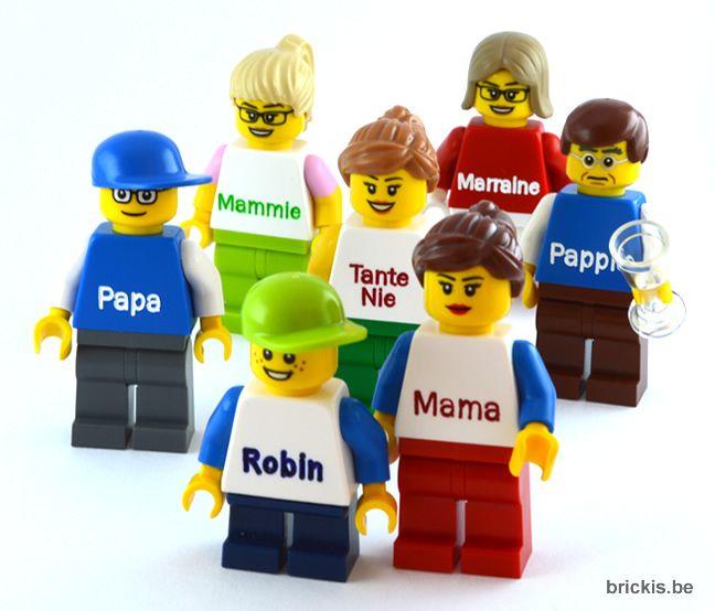 gepersonaliseerde LEGO®  minifiguur met uw naam