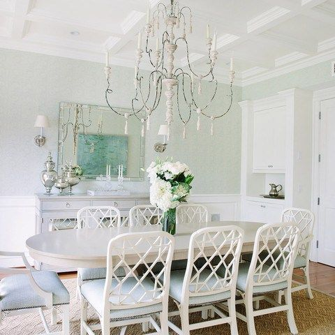 The Chinoiserie Dining Room Green Dining Room Dining Room French Chic Dining Room