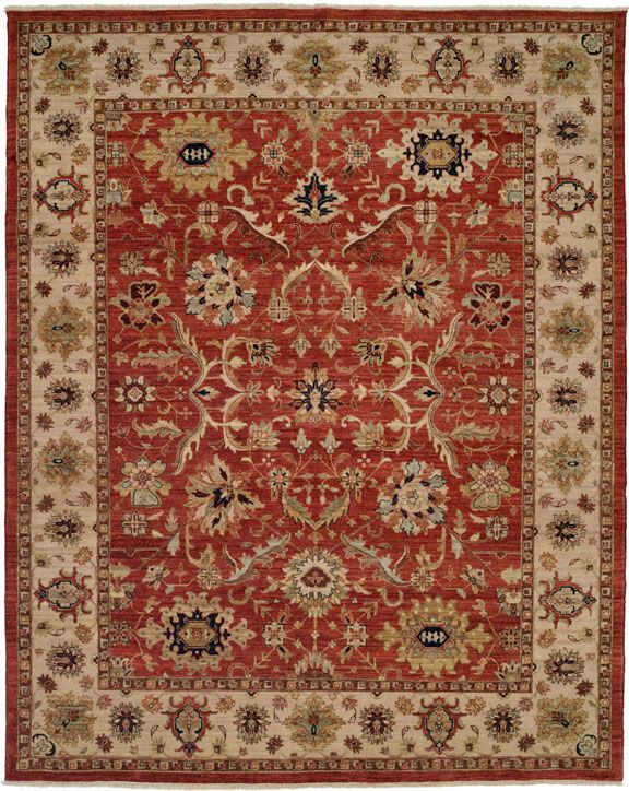 Rugs Red Traditional