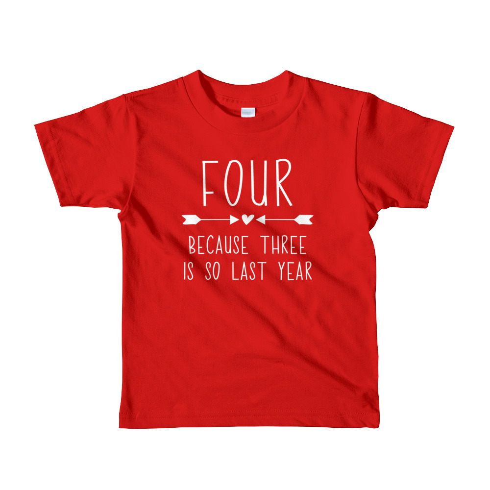 Fourth Birthday Girl Shirt Cute 4th T Four Year Old Gift Party Outfit For Girls