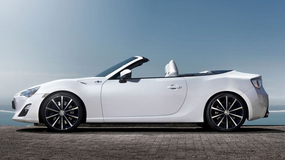 The Toyota FT86 Open Concept Is Here To Scare The Mazda