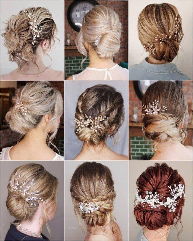 14 Peinados pelo corto boda