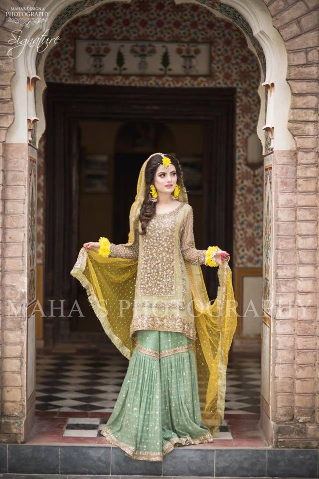 100 Latest Mehndi Dresses Lehengas Ideas Mehndi Dress Bridal Mehndi Dresses Dresses