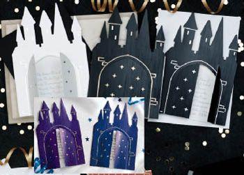 Personalized Fairytale Castle Invitation - ShindigZ