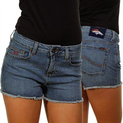 Broncos Jean Shorts