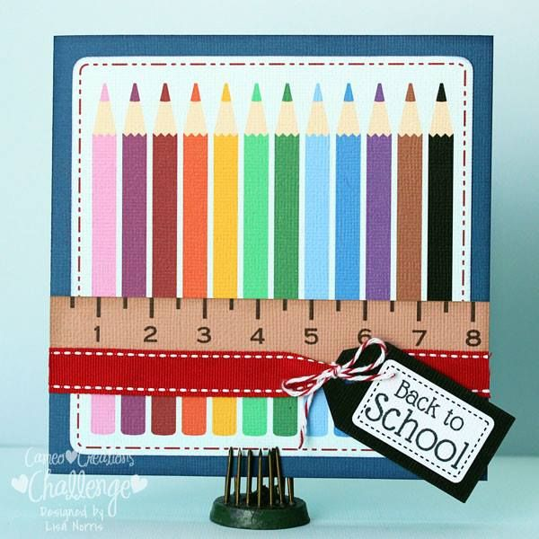 Cameo Creations Challenge : Search results for back to school challenge