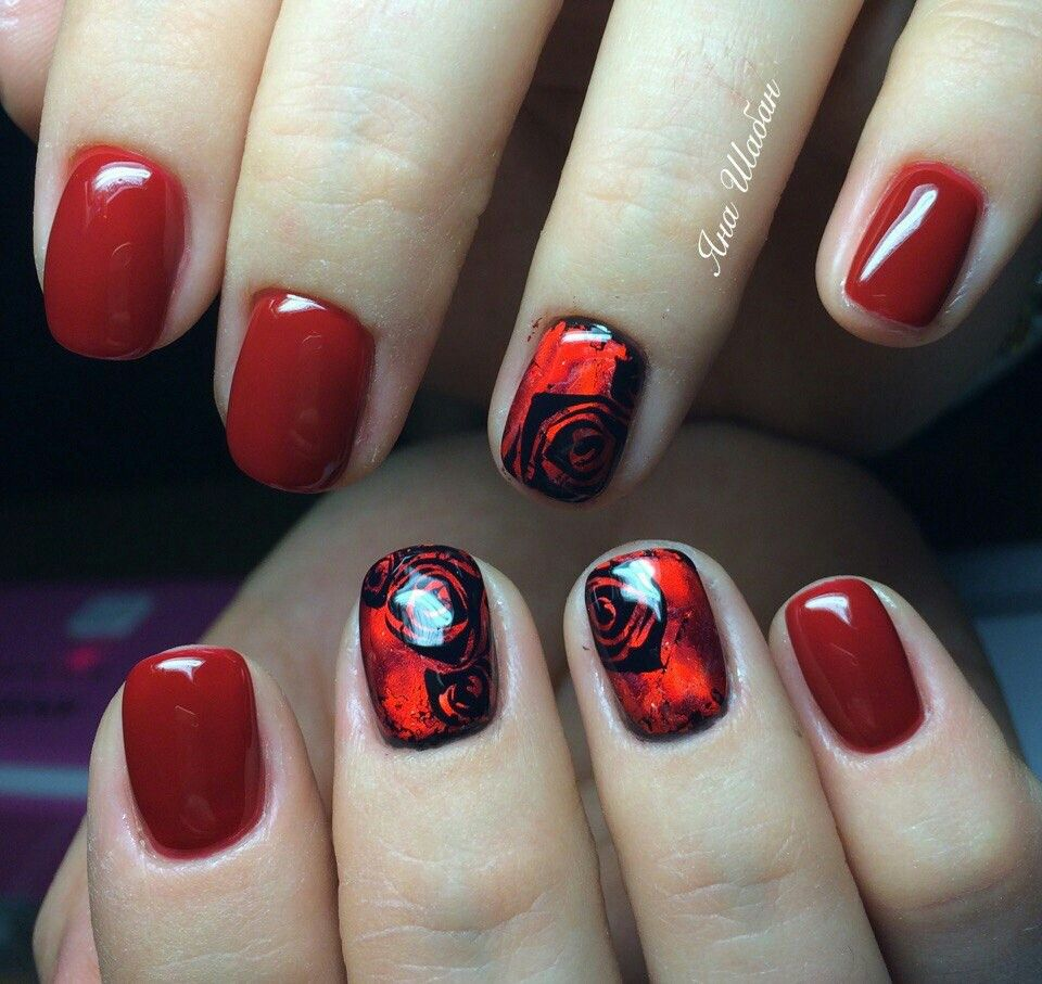 Pin by Natali Nails on Nail Designs: FLOWERS! | Pinterest