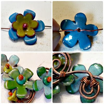 Art Jewelry Elements: Saturday Share...Double Headpins