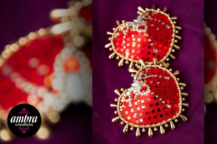 Moulin Rouge Burlesque Pasties https//www.facebook.com/AmbraCreations