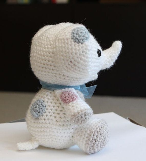 Amigurumi Crochet Pattern Peanut the Elephant | AMIGURUMI ...