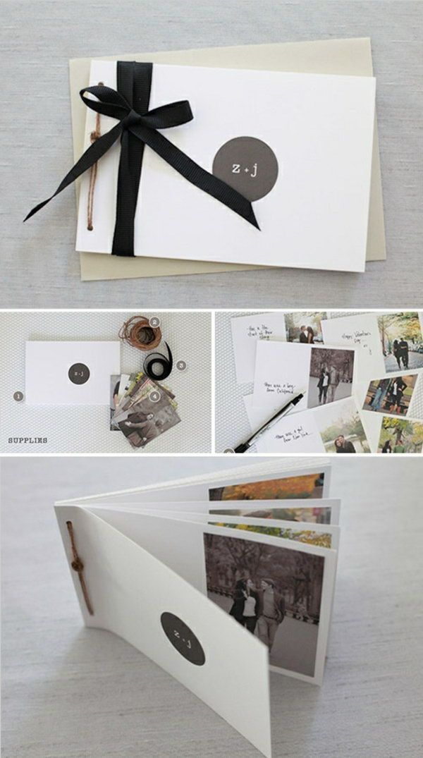 dd8271c5ba723 DIY Photo Book. This is an awesome holiday gift for men
