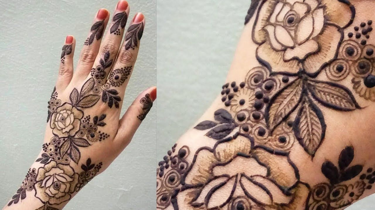 49 Most Beautiful Mehndi Design Collection Floral Henna Designs Meh Henna Designs Hand Mehndi Designs Floral Henna Designs