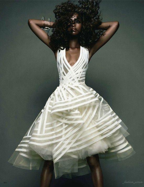 The Avant-Garde Wedding Dress | The Avant-Garde Bride | Pinterest ...