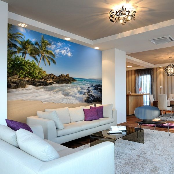 Fotomurales playas decora tus paredes con esta for Fotomurales de vinilo