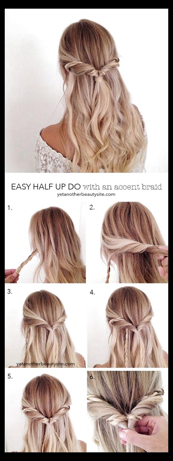 Pin By Aubrey Mcquain On Hair Styles In 2020 Simple Prom Hair Long Hair Styles Hair Styles