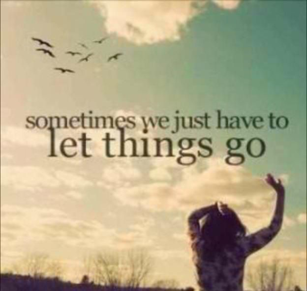 letting go of a bad relationship