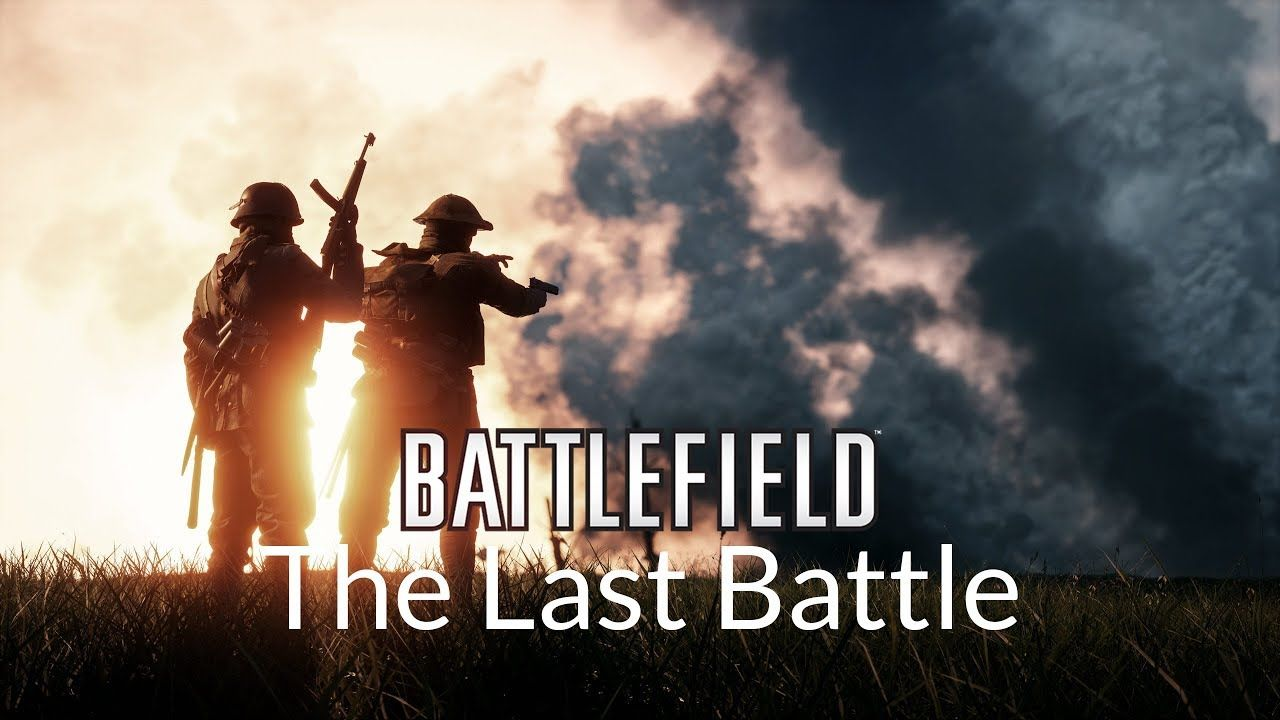 saying goodbye to bf1 with some cinematic trailer waiting for bf v