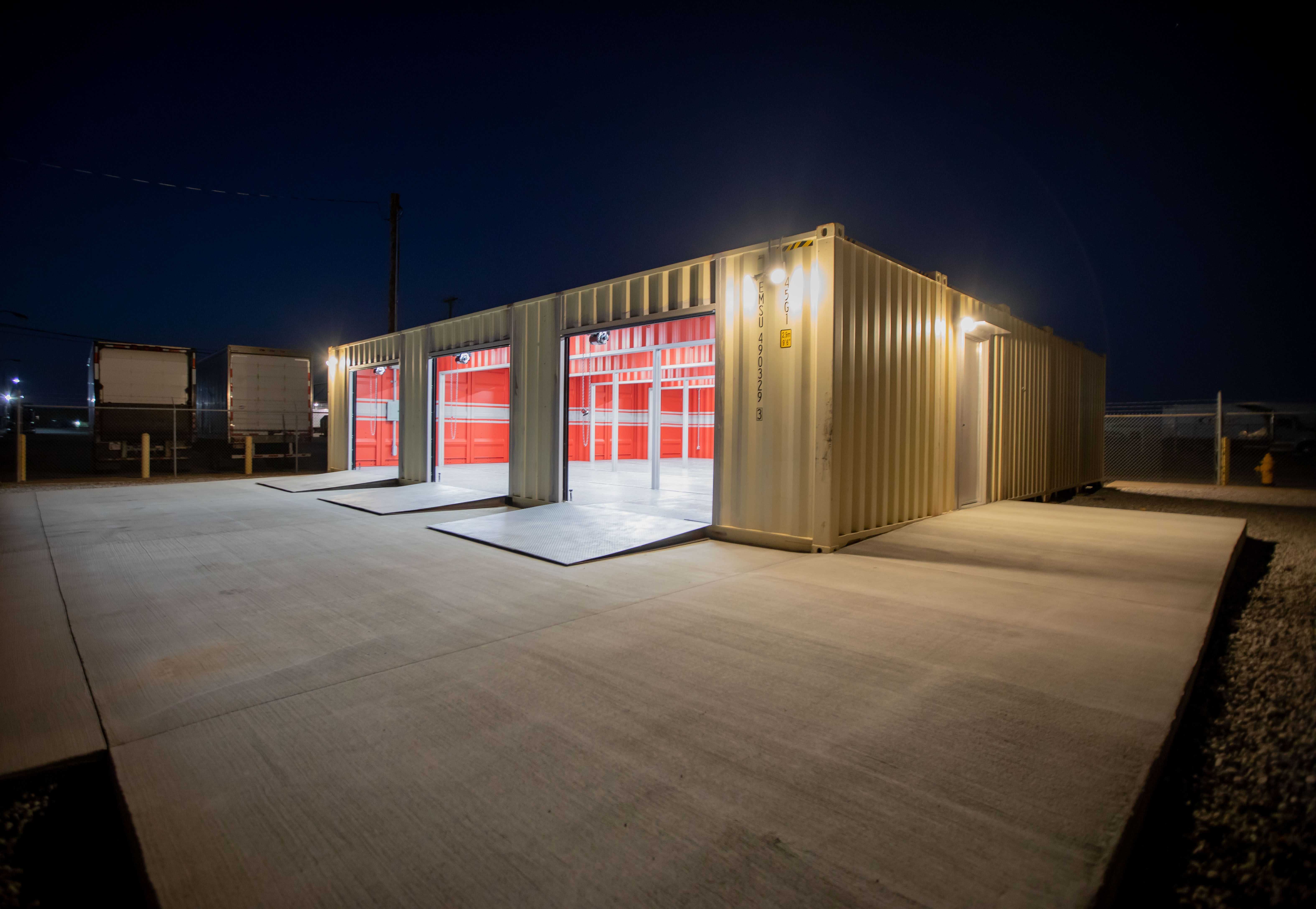 A Shipping Container Car Garage Container Shop Container Design