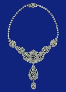 76e39a4fb The Nizam of Hyderabad Necklace from Great Britain | Royal Jewels ...