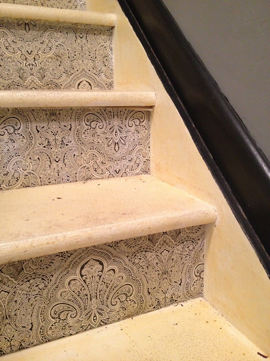 Stairs- Removing Paint | Painted wood floors, Stripping ...