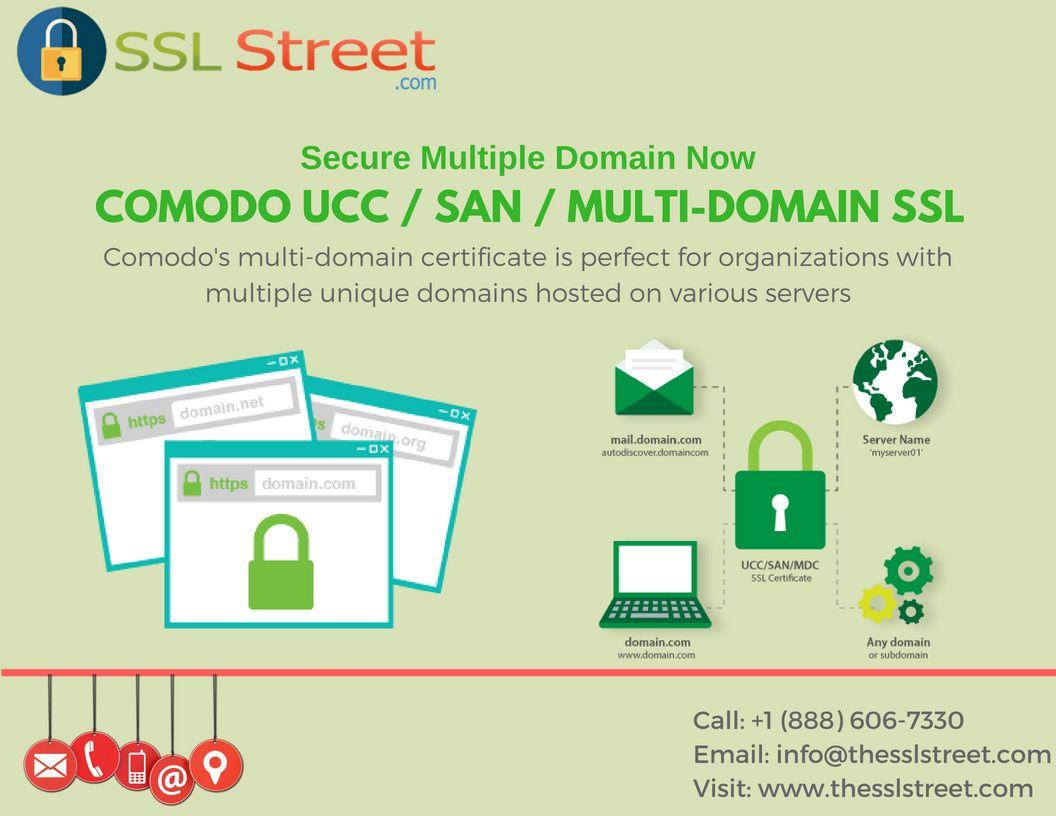 Comodo Ucc San Multi Domain Ssl Is Organization Validated Ssl
